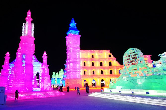Shared Night Transfer Service to Harbin Ice and Snow World