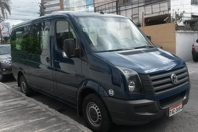 Quito Private Arrival Transfer