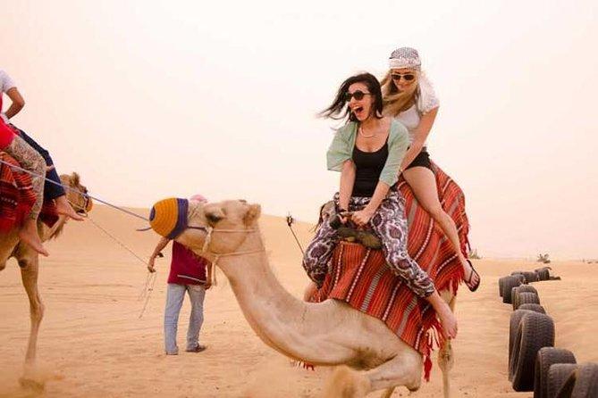 Desert Safari Dubai with Camel Ride & BBQ Dinner