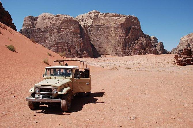 Wadi Rum Jeep Tour & Overnight