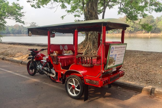 Departure Airport Transfer by Tuk Tuk