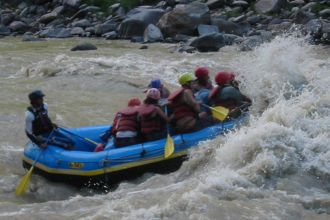2 days rafting tour in Trisuli River