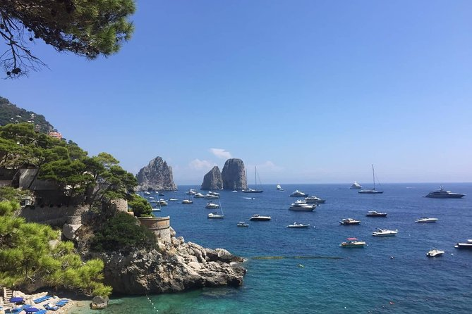 Capri COLLECTIVE boat excursion from Positano