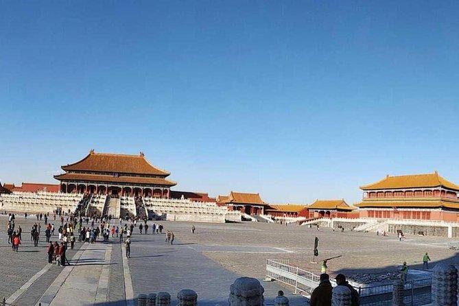 Forbidden City Plus Mutianyu Great Wall Coach Tour