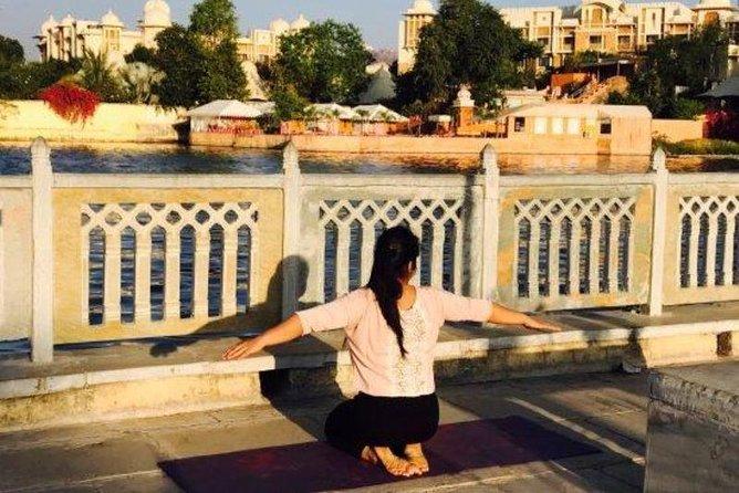 Morning Or Evening Yoga Overlooking Lake Pichola, Udaipur