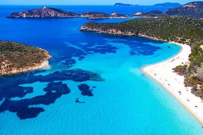 Cagliari Shore Excursion: South West Hidden Beaches Private Boat Tour