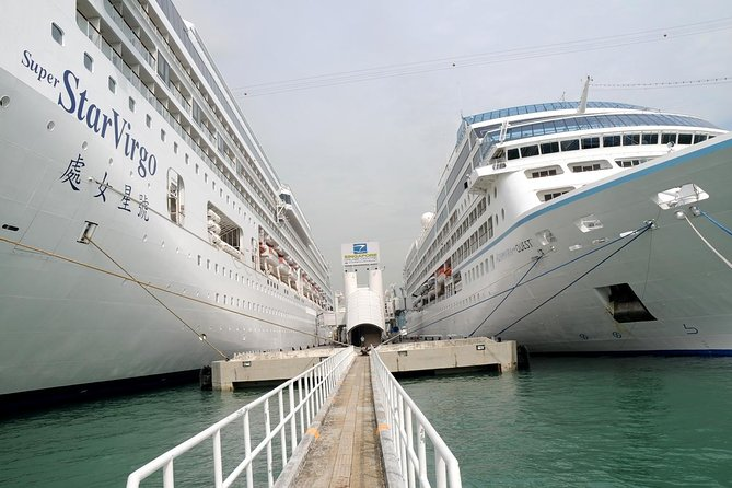 Harbour front Cruise Center to City Hotel Transfer