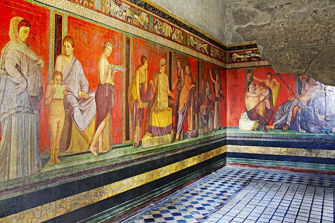 Rome to Pompeii & Herculaneum Trip with Hotel Pickup & Skip-the-line Tickets