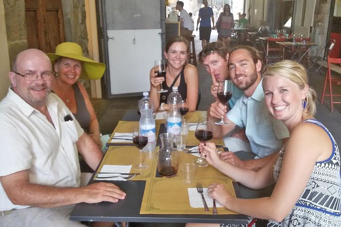 Florence Food Tour with San Lorenzo Market Visit City Sightseeing & Wine Tasting