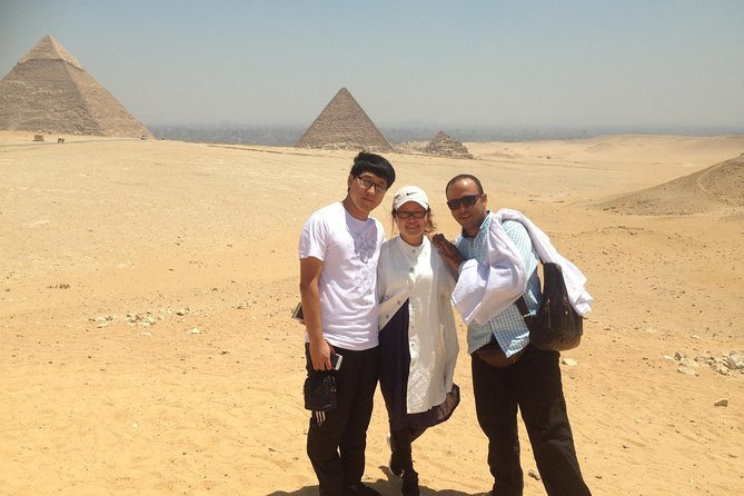 Private Half-Day Trip to Giza Pyramids with Camel Ride photo 1