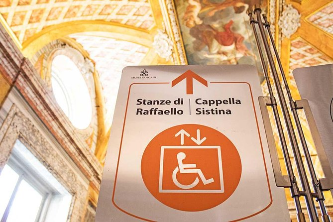 Wheelchair Accessible Vatican Tour with Sistine Chapel & Skip-the-line Tickets