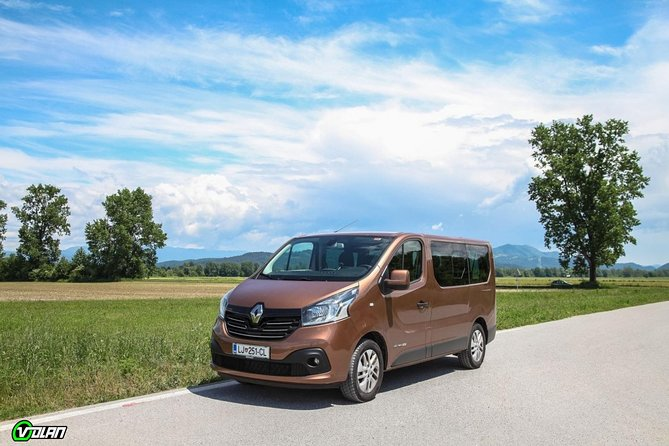 Return Sightseeing Shuttles to Attractions in Slovenia from Koper Cruise Port