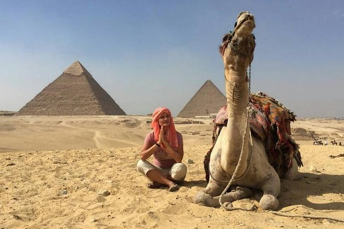Giza Pyramid, Sakkara & Memphis Full Day Tour