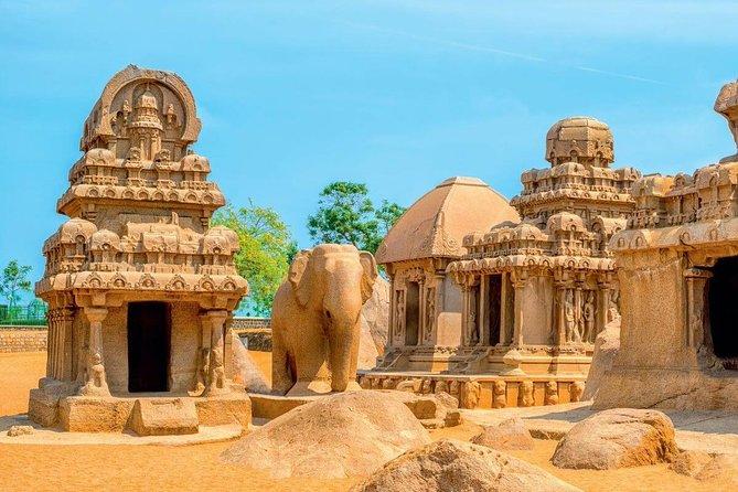 Excursão de dia em Mahabalipuram (embarque e desembarque no hotel em Chennai)