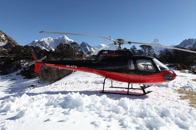 Everest Base Camp Nepal Heli Trek 12 Days