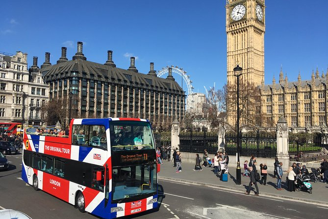 Double Decker Bus Tour and Hard Rock Cafe Meal