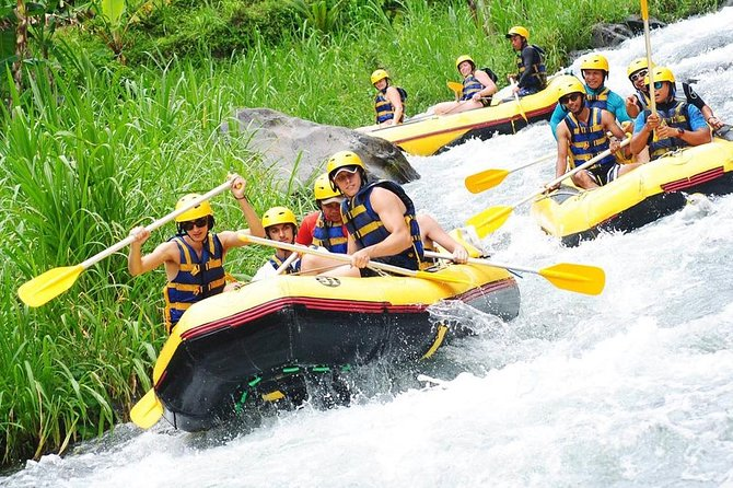 Five stars Rafting Adventure at Telaga raja River