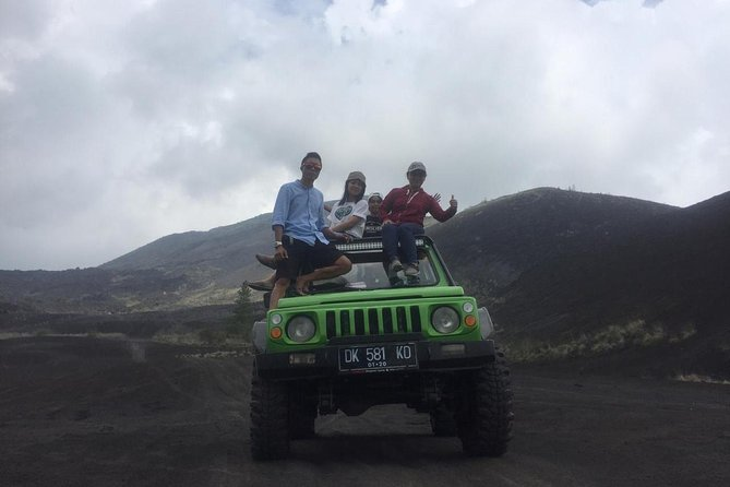 Batur Volcano Jeep Adventure - Explore The Black Lava of Mount Batur