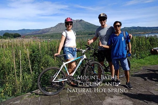 Mount Batur Cycling and Natural Hot Spring