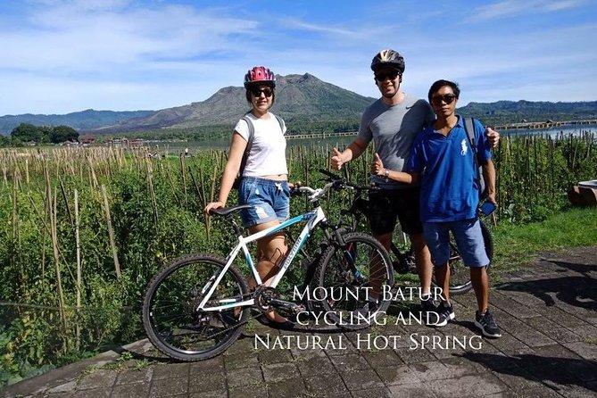 Mount Batur Cycling and Natural Hot Spring