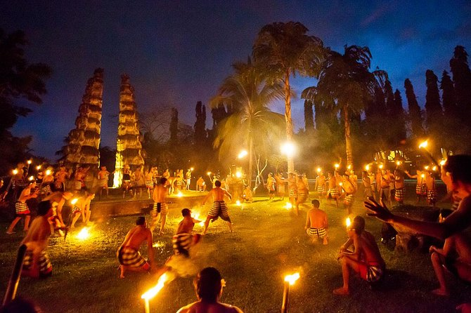 Uluwatu Temple during Sunset (with Kecak Fire Dance)