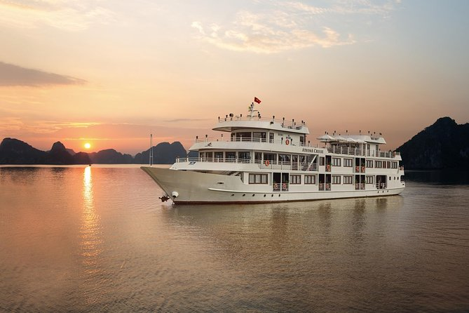 Athena Luxury Cruise 2D/1N: meals, kayaking & swimming, fishing in Bai Tu Long