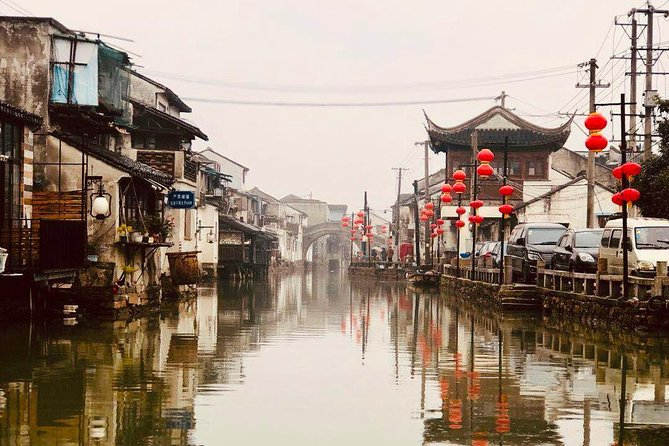 Private Suzhou and Tongli Water Village Day Trip with Lunch from Shanghai