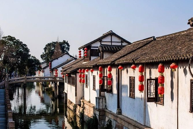 Shanghai Shenkeng Quarry and Fengjing Water Village Private Day Tour