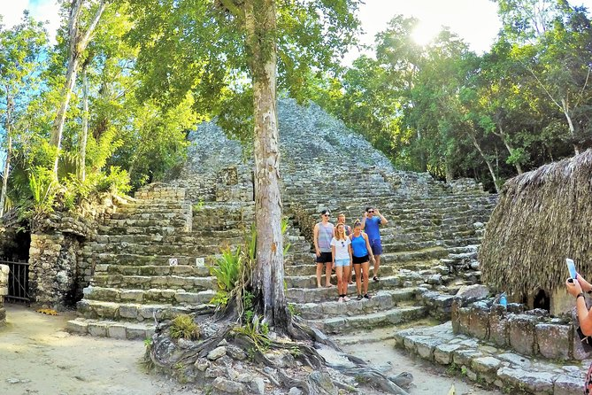 Private Tour: 2 Mayan cities in one day, Tulum and Coba