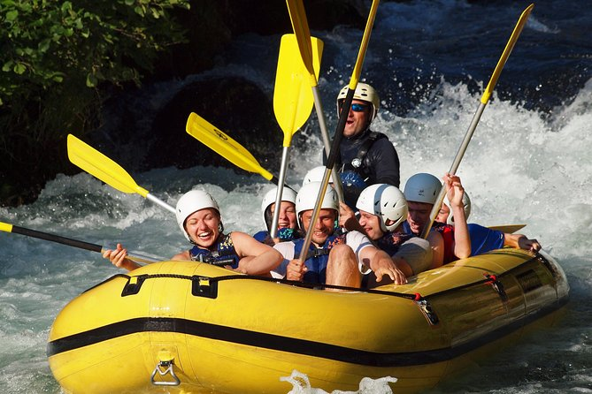 Rafting to Cetina river from Split - Private trip