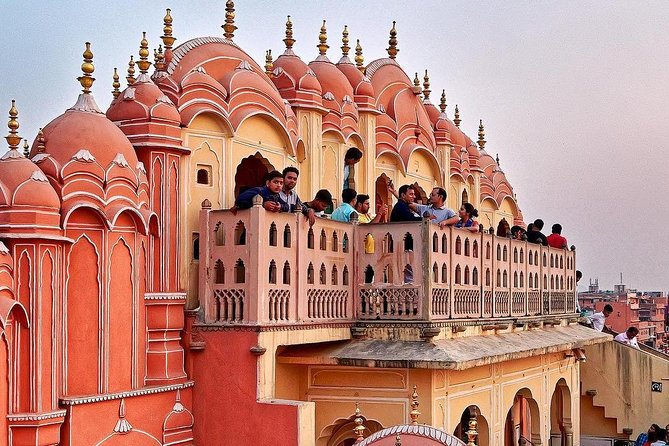 Five Day Private Golden Triangle Tour Taj Mahal at Sunset and Sunrise