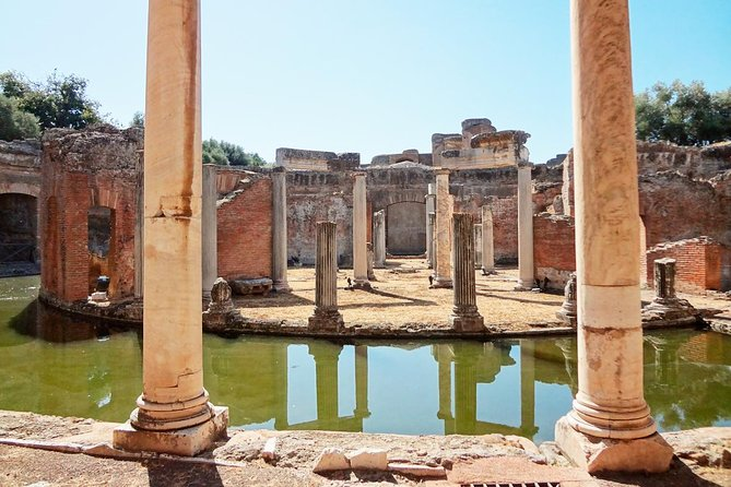 Guided Tour of Tivoli Hadrian's Villa & Villa D'Este with Skip-the Lines Tickets