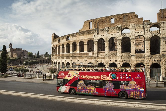 Florence to Rome Day Trip by high speed train with Hop On Hop Off Access