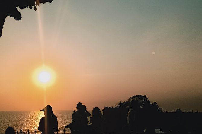 Nungnung waterfall,ulundanu tmple,jatiluwih and tanah lot sunset