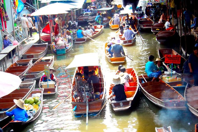 Train Market, Floating Market and River Kwai - Day Trip