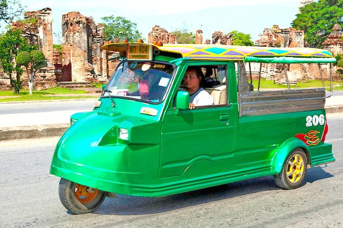 Bang Pa-In Summer Palace and Ayutthaya ruins with TukTuk - Private Day trip