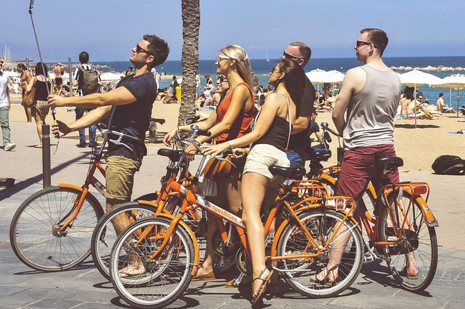 Barcelona & Gaudi by bicycle!! the most original private tour with a local guide