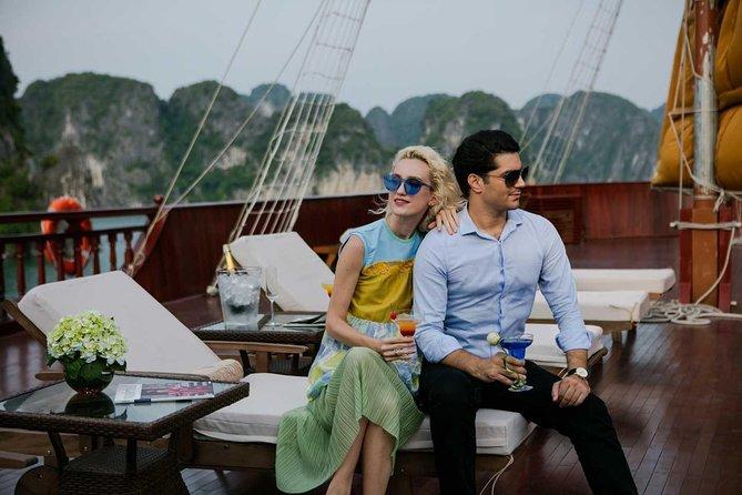 Heritage Cruises 3 days 2 nights visit Halong Bay depart from Hanoi Old Quarter