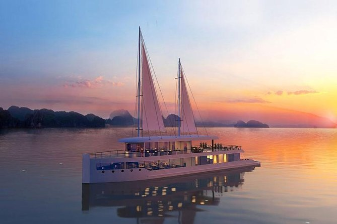 Jade Sails Cruise Halong Bay 2 days 1 night depart from Hanoi Old Quarter