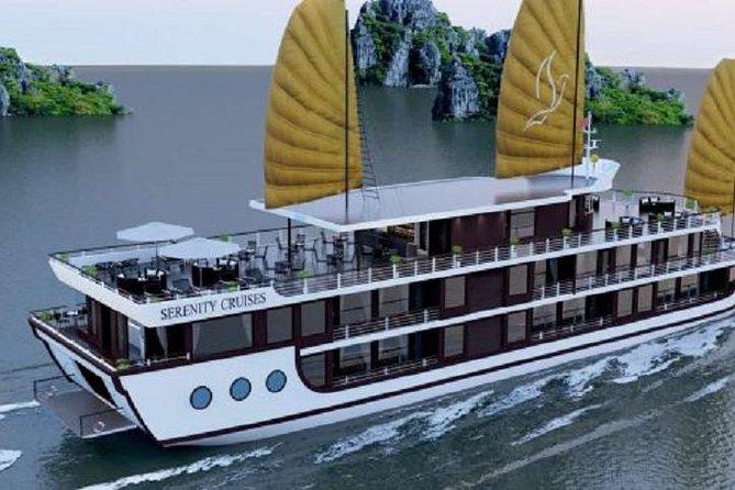 Serenity Halong Cruise 2 days 1 night visit Lan Ha Bay Halong Bay from Hanoi