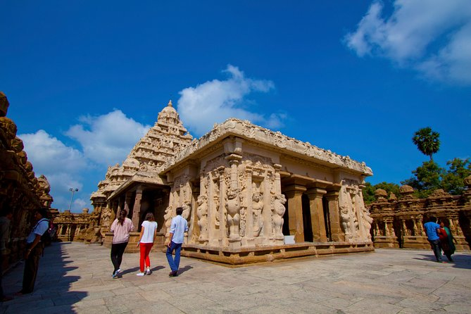 Private Cultural Tour: Day Trip to Kanchipuram and Mahabalipuram from Chennai
