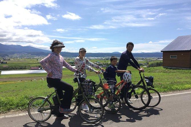 Furano E-bike Guided Half-day Tour