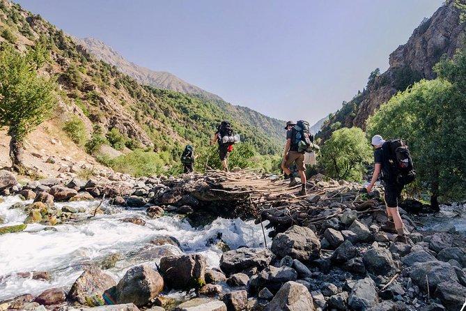 Trekking in Fann mountains