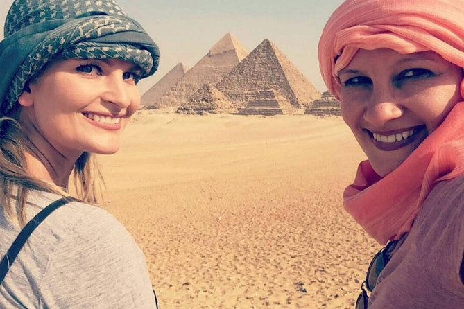 Cairo: Giza Pyramid, Sakkara & Memphis Full Day Private Tour