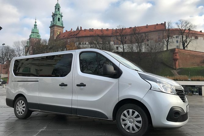 Krakow Balice Airport Private Transfer with 4Travellers