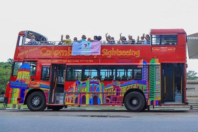 Colombo City Tour On Open Deck Bus
