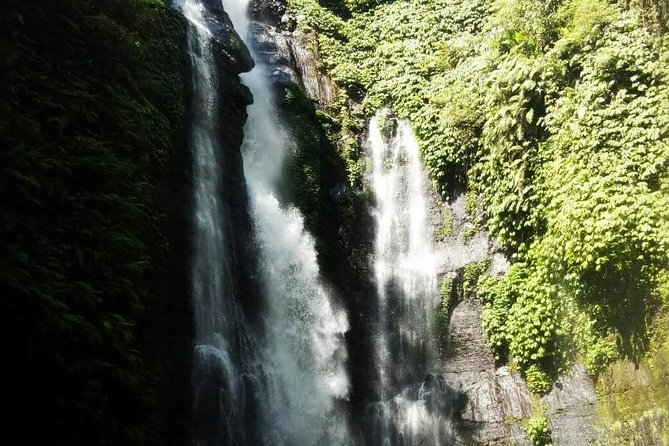 Explore 7 waterfall and enjoy the natural waterslide with rice terraces view
