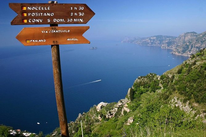 Transfer to the Path of Gods from Sorrento