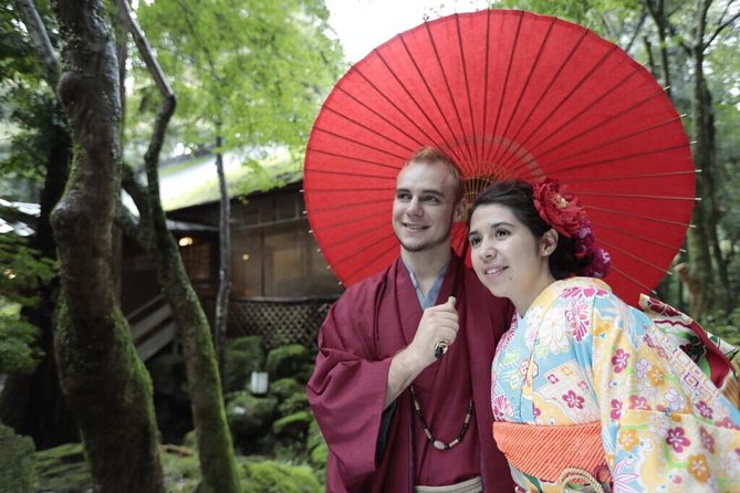 Kimono rental in Nara Park ( Deer Park) On the town course