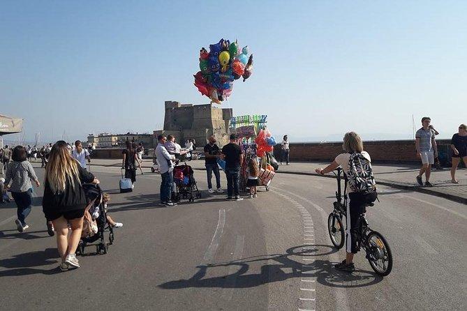Naples electric bike tour Partenope